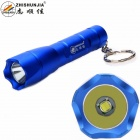 ZHISHUNJIA 1304-T6 XM-L LED 700lm 3-Mode Cool White Light Flashlight w/ Keychain - Blue (1 x 14500)