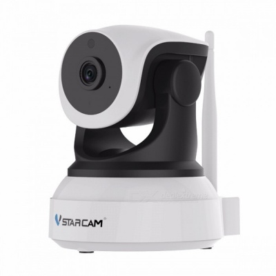 VSTARCAM C7824WIP 720P 1.0MP Security IP Camera - White + Black (US)
