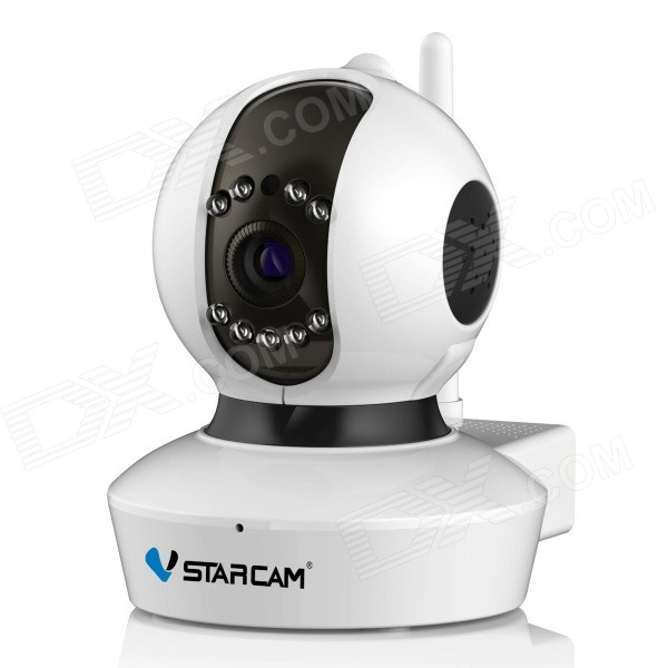 VSTARCAM 720P 1.0MP Security IP Camera w/ 9-IR-LED - White (US Plug)