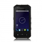 "A8 Android 4.2 Dual Core 3G Rugged Phone w/ 4.0"", 5MP, 4GB ROM, Wi-Fi, GPS, Bluetooth, FM - Black"