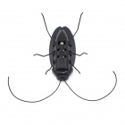 Novel Solar Powered Cockroach Toy for Children - Black (2PCS)