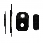 Power Switch w/ Home Button, Lens Cover for Samsung Note 3 - Black