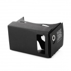 "DIY Google Cardboard Virtual Reality 3D Glasses for 3.5~6"" Cellphone - Black"