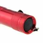 Ultrafire 80lm 9-LED Single Mode White Light LED Flashlight - Red