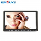 Rungrace 7-inch 2 Din TFT Screen In-Dash Car DVD Player w/ Bluetooth, RDS, ATV - Black