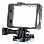 TOZ Protective Side Frame w/ Screws + Push Buckle for GOPRO HERO 3+ / HEOR 3 - Black