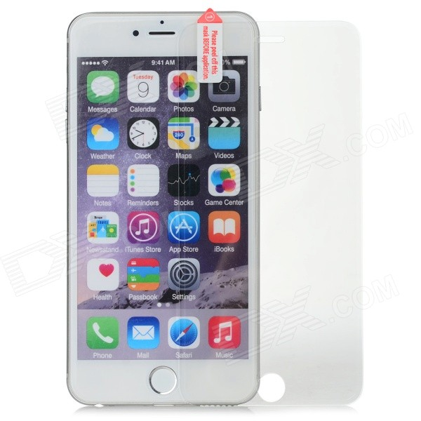 Clear Tempered Glass Screen Guard for IPHONE 6 PLUS - Transparent