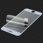 Tempered Glass Front Full Screen Guard for IPHONE6 - White+Transparent