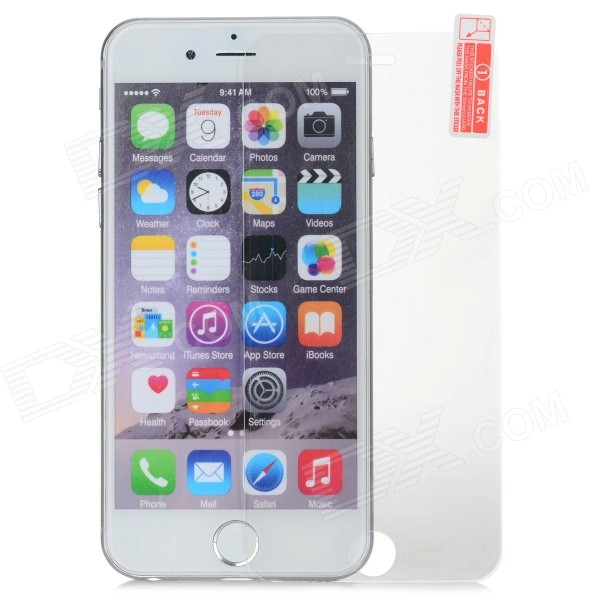 Protective Clear Tempered Glass Screen Film for IPHONE 6 - Transparent