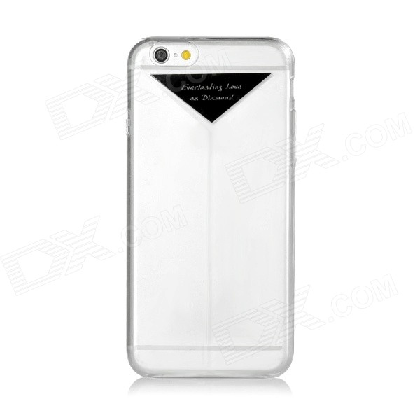 USAMS IP6C01 PC Back Case Cover for IPHONE 6 - Transparent + Black