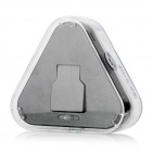 Triangular Charging Dock w/ Flat Cable for Samsung Galaxy S6 - Black
