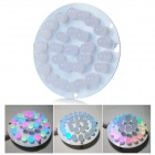 Circular Lamp Suite 28-LED RGB Light Lamp DIY Kit Electronic Production DIY Kit - White