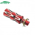 CARKING Universal Aluminum Alloy Motorcycle Rear Back Pedals - Red