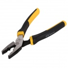 BESTIR BST-10363 Linesman Pliers Pincer Pliers Wire-Cutter w/ Stripping Hole - Silver + Black