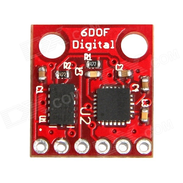 Geeetech 6DOF ADXL345 and ITG3205 Digital Combo Board - Red