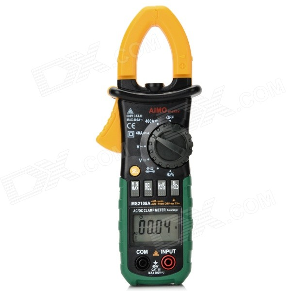 Aimometer Ms2108a 4000 Counts 400A & DC Current Digital Clamp Meter