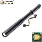 ZHISHUNJIA Stick Shape 400lm LED 3-Mode White Light Flashlight - Black (1 x 18650)