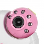 "1.5"" LCD 2.4GHz Wireless Digital Baby Monitor - White + Pink (US Plug)"