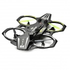 HelicMAX Stylish Large Outdoor 2.4GHz 4-Ch R/C Quadcopter - Black
