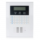 "2.2"" LCD 433MHz Wireless GSM Quad-Band Alarm System - White + Black"