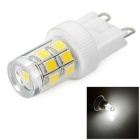 G9 2W LED Kristall-Lampen-weißes Licht 6000K 200lm - White + Transparent (AC 220 V)