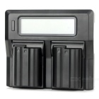 "3"" LCD EN-EL15 Charger + 2 x EN-EL15 1900mAh Batteries Ki for Nikon D7000 / D800 / D600 / V1"