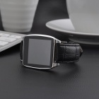 "Rwatch R7 1.54"" bluetooth v4.0 montre intelligente pour ios / android - argent"
