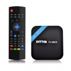 DITTER M20 Quad-Core-Android 4.4.2 Google TV HD Player + Wireless Keyboard Air Mouse / Voice-Funktion