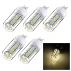 G9 7W 3300K 500lm SMD 5730 Warm White Lamp (220~240V / 5PCS)