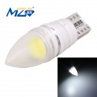 MZ T10 1.5W 90lm COB Canbus Decode White Light Conic Car Flood LED Clearance Lamp (12~18V)