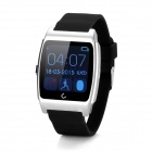 "Uwatch 1.35"" Screen Bluetooth v4.0 Smart Watch w/ Pedometer, Sleep Monitoring - Black + Silver"
