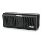 SLANG 6W Hi-Fi Bluetooth V3.0 Hands-free Rechargeable Speaker w/ TF / AUX / Micro USB - Black