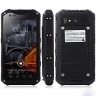 "A9 Android 4.2 Quad-Core WCDMA 3G Rugged Phone w/ 4.3"", 8GB ROM, Wi-Fi, NFC, GPS, BT, FM - Black"