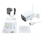 ESCAM QD300WIFI Waterproof CMOS 720P P2P IP Camera - White (EU Plug)