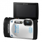 Genuine Olympus TG-850 - White (Waterproof, Crushproof,  Shockproof Outdoor Camera)