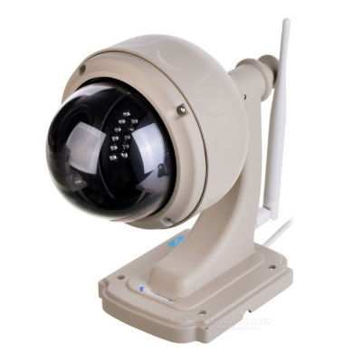 telecamera IP wireless VSTARCAM 720P 1.0MP PTZ 4 * Zoom - bianco (spina di UE)