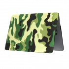 "Camouflage PC Cover Case for 13.3"" Apple MacBook Air - Green + Black"