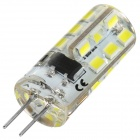 G4 3W 150lm Cold White Light 24-SMD 3528 LED Bulb (AC 220V / 2 PCS)