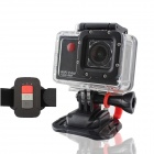 "F56 2.0"" Screen 12MP Full HD 1080P CMOS 30M Waterproof Wi-Fi Sports Camera w/ HDMI / FHD - Black"