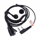 Baiston Professional Ear-Hook Earphone for Walkie Talkie - Black