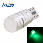 MZ T10 1.5W LED Car Floodlight Clearance Lamp Green Light 500nm 90lm COB Canbus Decoded (12~18V)
