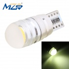 MZ T10 1.5W LED Car Floodlight Clearance Lamp Yellow Light 590nm 90lm COB Canbus Decoded (12~18V)