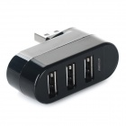 Mini 3 porte HUB USB 2.0 w / indicatore luminoso