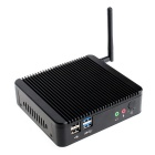 Quad-Core Mini PC Desktop Computer w/ 4GB RAM, 128GBSSD, Wi-Fi