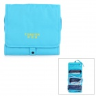 Creeper Water-Resistant Detachable Outdoor Travel Makeup Toiletries Wash Storage Bag - Blue