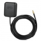 Waterproof Magnet GPS Gain Antenna w/ MCX Connector - Black