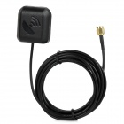SMA Male Connector Cable Car Vehicle GPS / DVD External Antenna - Black