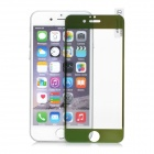 FineSource Electroplating Tempered Glass Screen Protector Guard for IPHONE 6 - Green + Transparent