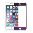 FineSource Electroplating Tempered Glass Screen Protector for IPHONE 6 PLUS - Purple + Transparent
