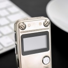 "1"" LCD Digital Audio Voice Recorder MP3 Player - Gold (8GB)"